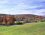 Sitzmark Golf Course with Fall Foliage
