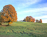 Rolling Hills and Sugar Maples in Fall at the White House Inn