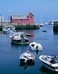 Motif #1 and Boats in Rockport Harbor
