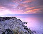 Mohegan Bluffs at Sunrise