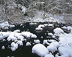 East Branch Swift River and Blanket of Fresh Snow
