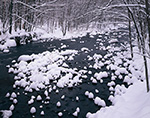 Millers River and Fresh Snow