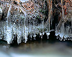 Icicles on Gulf Brook, Athol, MA