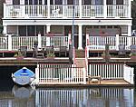 Porches, Dory and Wharf