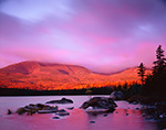 High Winds and Exotic Light Sunrise on Mt. Katahdin at Sandy Stream Pond