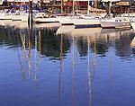 Sailing Craft Reflections, Ferry Point Marina
