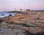 Eastern Point Light and Granite Shoreline, Cape Ann