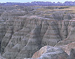 View from Big Badlands Overlook, Badlands National Park, SD