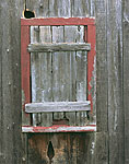 Old Weathered Barn Window, Atwood Higgins House Property