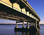 Route 430 Bridge and Arkansas River (Murray Lake)