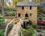 The Old Mill, Replica of Pugh's Mill (Built 1933), North Little Rock, AR