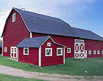 Magnificent Red Barns