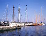 "Schooner ""Coronet"" Docked at Newport Harbor, Narrangansett Bay"