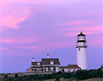 Cape Cod Light (Highland Light) at Sunset