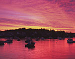 Boats in Carvers Harbor at Predawn