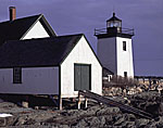 Grindle Point Light with Dark Sky, Islesboro Island