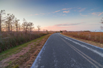 Road to Pa-Hay-okee at Sunset, Everglades National park, FL