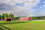 Horse Barn at Stone Pony Farm, Leverett, MA