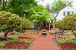 Garden in Griswold Square, Essex, CT