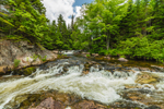 Ledge Falls on Nesowadnehunk Stream, Baxter State Park, ME