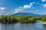 Mount Katahdin and West Branch Penobscot River, Baxter State Park, ME