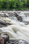 Nesowadnehunk Falls on West Branch Penobscot River, T2R10 WELS, ME