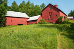 Historic Red Barns, Built 1788, Hanover, ME