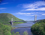 Bear Mountain Bridge over Hudson River