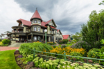 Corbin-Norton House and Flower Gardens at Ocean Park, Martha's Vineyard, Oak Bluffs, MA