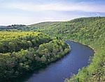 Upper Delaware River in Spring