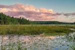 Sunset at South Spectacle Pond, Quabbin Reservation, New Salem, MA