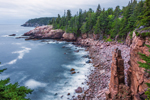 Early Morning at Monument Cove off Ocean Drive, Acadia National Park, Bar Harbor, ME
