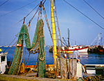 Fishing Nets and Boats, Cape Cod