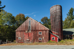 Old Red Barn and Silo, Royalston, MA