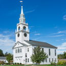 Hancock Meeting House, Congregational Church and Town Hall, Hancock, NH