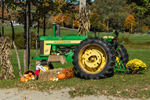 John Deere 620 Tractor at Blue Mountain Produce in Fall, Wilmington, VT