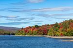 Fall Foliage along Harriman Reservoir, Willmington, VT