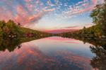 Reflections in Laurel Lake at Sunset, Erving State Forest, Erving, MA
