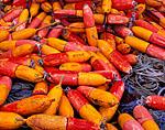 Well-worn Lobster Buoys