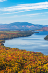 Mooselookmeguntic Lake in Fall, View from Height of Land Overlook, Rangeley Lakes Region, Township D, ME