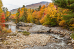 Swift River in Fall, Rangeley Lakes National Scenic Byway, Rangeley Lakes Region, Byron, ME