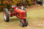 1952 International Farmall Tractor in Fall, White Mountains Region, Shelburne, NH