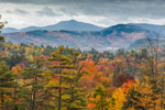 Moat Mountains in White Mountains in Fall, White Mountain National Forest, Jackson, NH