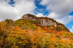 Frankenstein Cliff in Fall, Crawford Notch State Park, White Mountains Region, Harts Location, NH