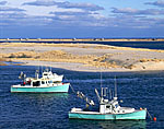 Fishing Boats and Tern Island, Cape Cod