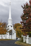 First Congregational Church on Royalston Common in Fall, Royalston, MA