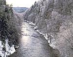 Farmington River after Ice Storm