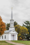 Henry Ford's Martha-Mary Chapel at Longfellow's Wayside Inn in Autumn, Sudbury, MA