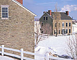 Fort Ontario in Winter, Seaway Trail National Scenic Byway, Lake Ontario