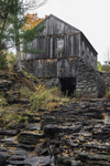 Old Sawmill on Turkey Hill Brook in Autumn, Moore State Park, Paxton, MA